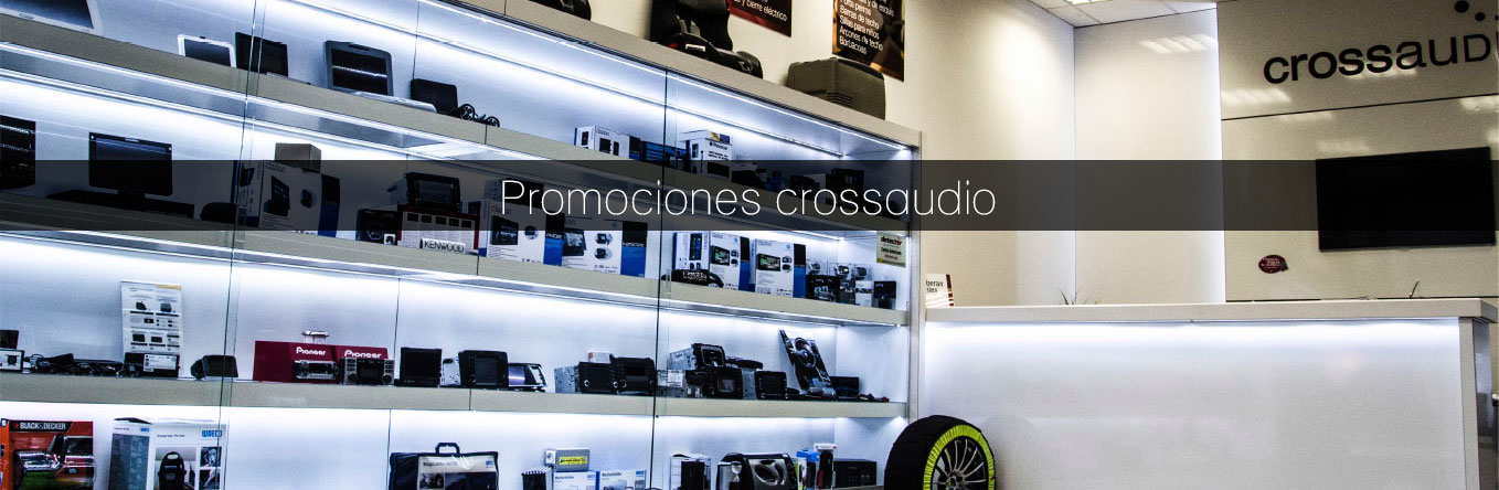 Promociones CROSS AUDIO