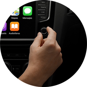 CarPlay y Android: Escucha y dicta