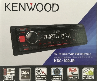 Radio Cd Kenwood KDC-100UR