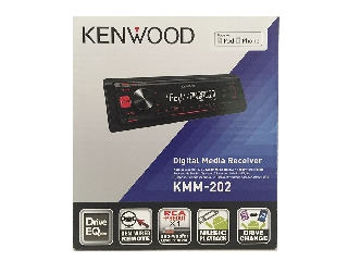 Radio Kenwood KMM202 con USB