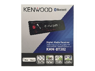 Radio Kenwood KMM-BT302 bluetooth y usb
