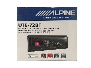 Radio Alpine UTE-72BT USB y manos libres Bluetooth